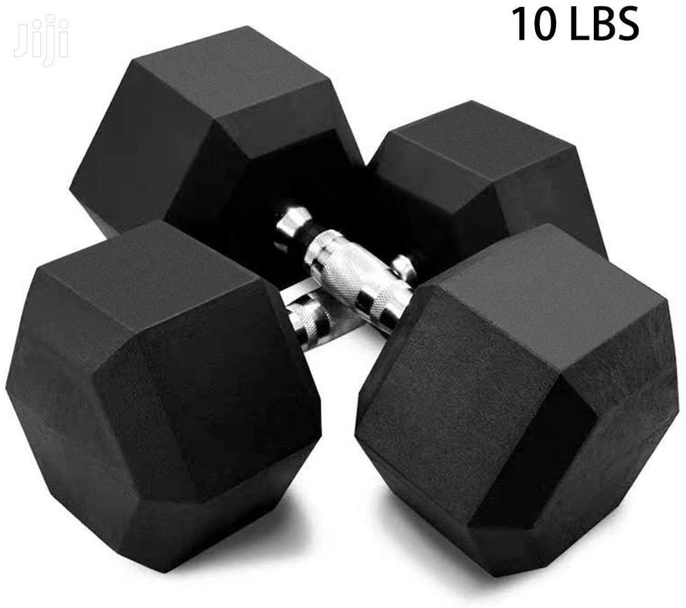 Dumbells Hex 40kg | Sports Equipment for sale in Accra Metropolitan, Greater Accra, Ghana