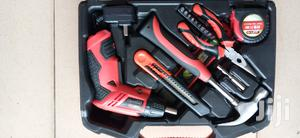 Chargeable Screw Driver With Tool Box