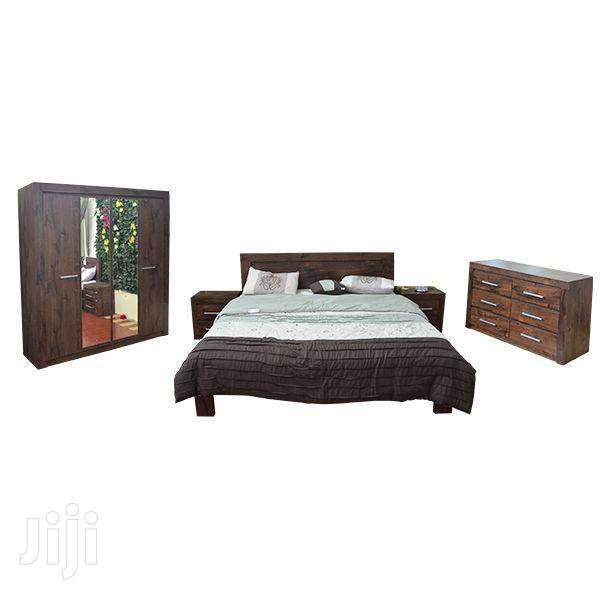5 PCS BEDROOM SET COFFEE BROWN | Furniture for sale in Adenta Municipal, Greater Accra, Ghana