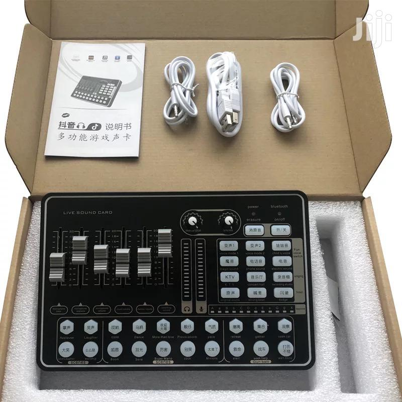 External Studio Sound Card For Recording And Live Streaming | Audio & Music Equipment for sale in Accra Metropolitan, Greater Accra, Ghana