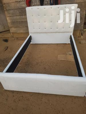 Double Bed White Colour Stuff In Bed For Sale