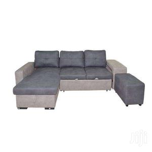L SHAPE SOFA/SOFA BED GREY/TAUPE | Furniture for sale in Greater Accra, Adenta