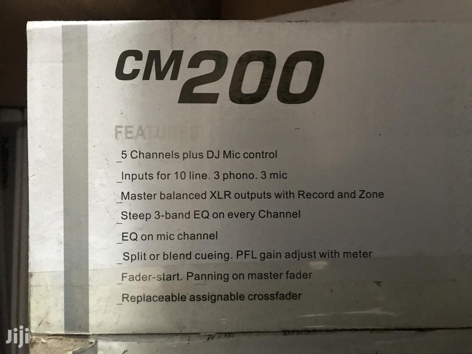 Dj Mixer Cm200 | Audio & Music Equipment for sale in Accra Metropolitan, Greater Accra, Ghana
