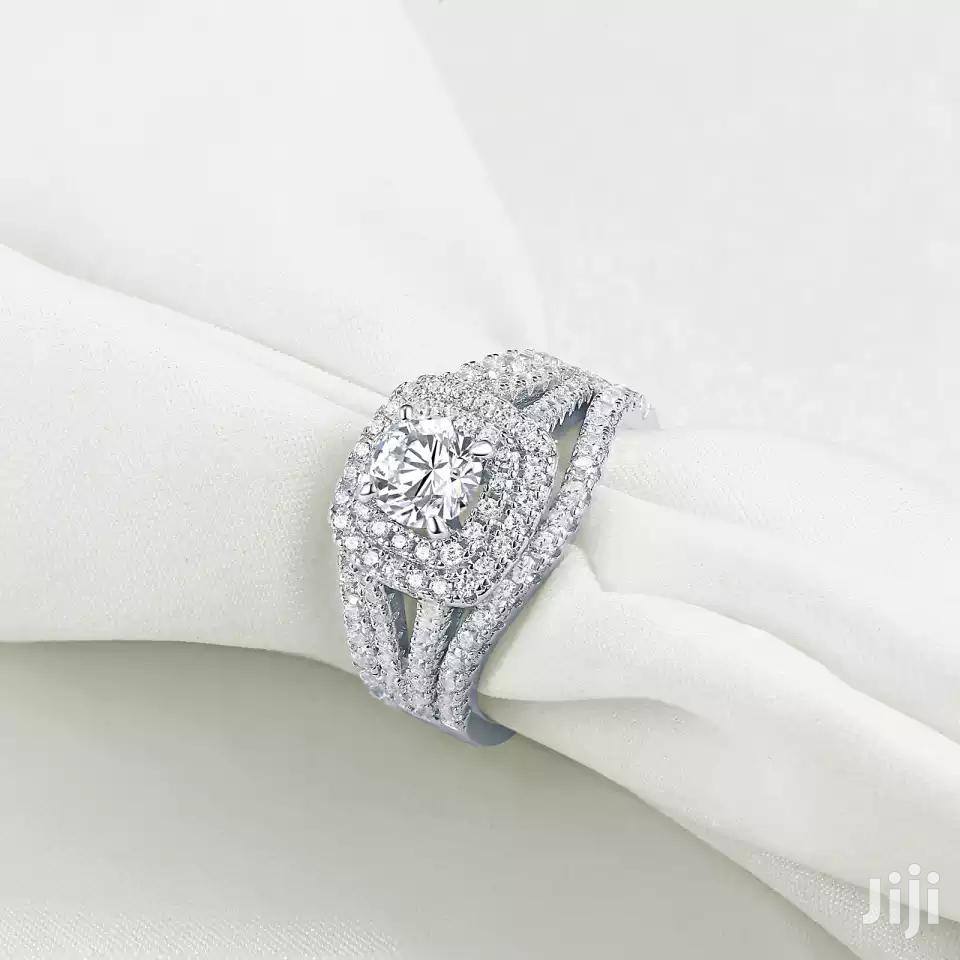 Three Set Silver Rings for Wedding | Wedding Wear & Accessories for sale in Cape Coast Metropolitan, Central Region, Ghana