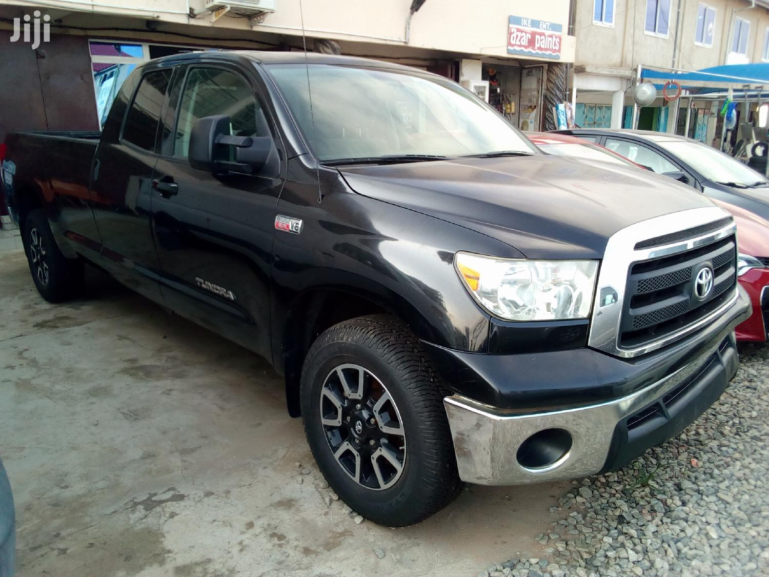 Toyota Tundra 2013 Double Cab 4x4 5.7L V8 Black | Cars for sale in Odorkor, Greater Accra, Ghana