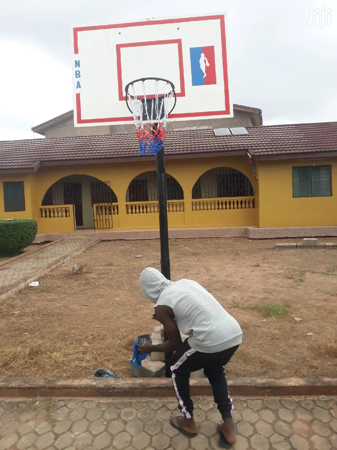 Original Basketball Stand Set At Cool Price   Sports Equipment for sale in Dansoman, Greater Accra, Ghana