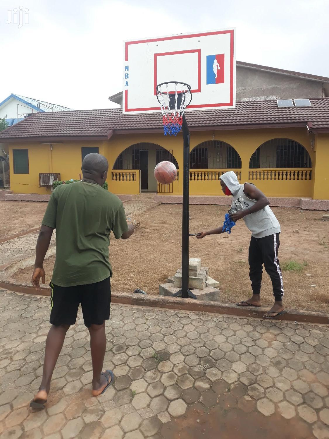 Original Basketball Stand Set At Cool Price | Sports Equipment for sale in Dansoman, Greater Accra, Ghana