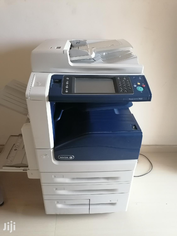 Archive: Xerox Color Photocopy 7835