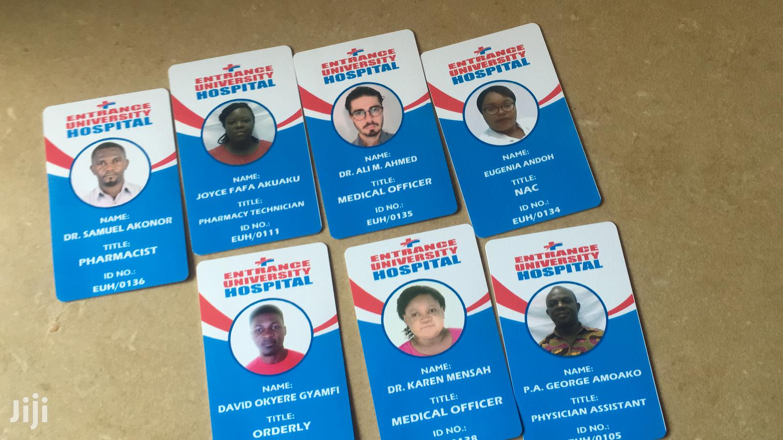Pvc ID Cards | Printing Services for sale in Accra new Town, Greater Accra, Ghana