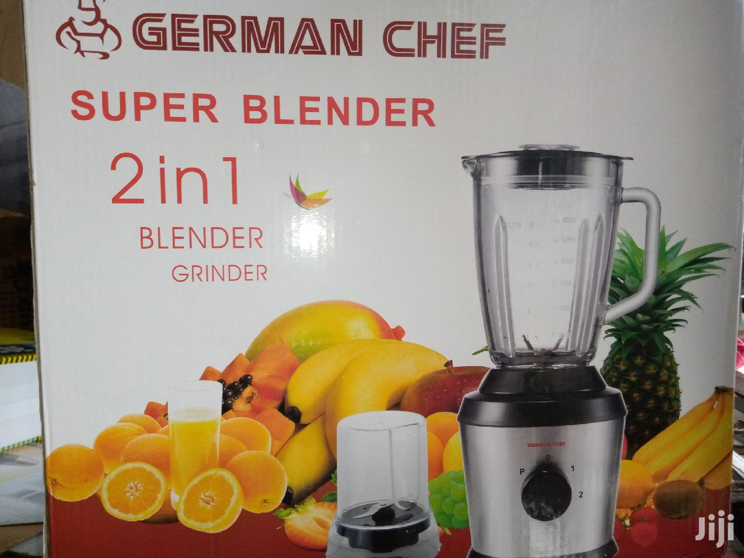 Archive: German Chef Glass Blender