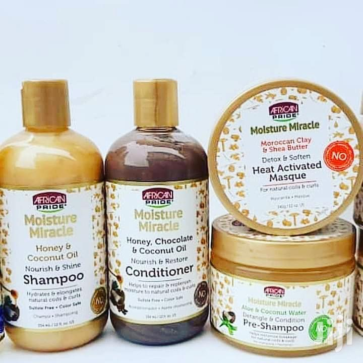 Archive: African Pride Moisture Miracle Honey & Coconut Oil Shampoo