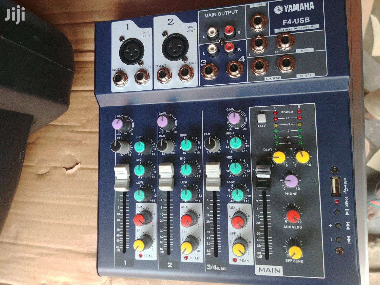 Yamaha F4 USB Mixer | Audio & Music Equipment for sale in Avenor Area, Greater Accra, Ghana