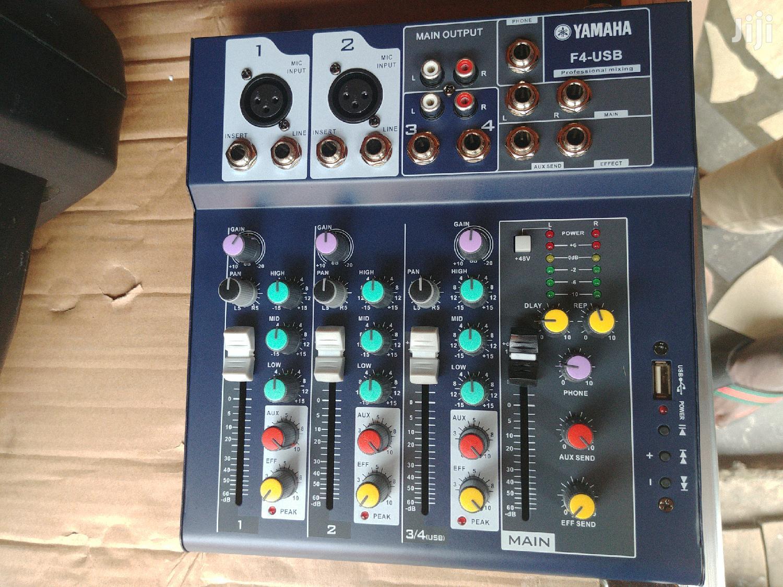 Yamaha F4 USB Mixer