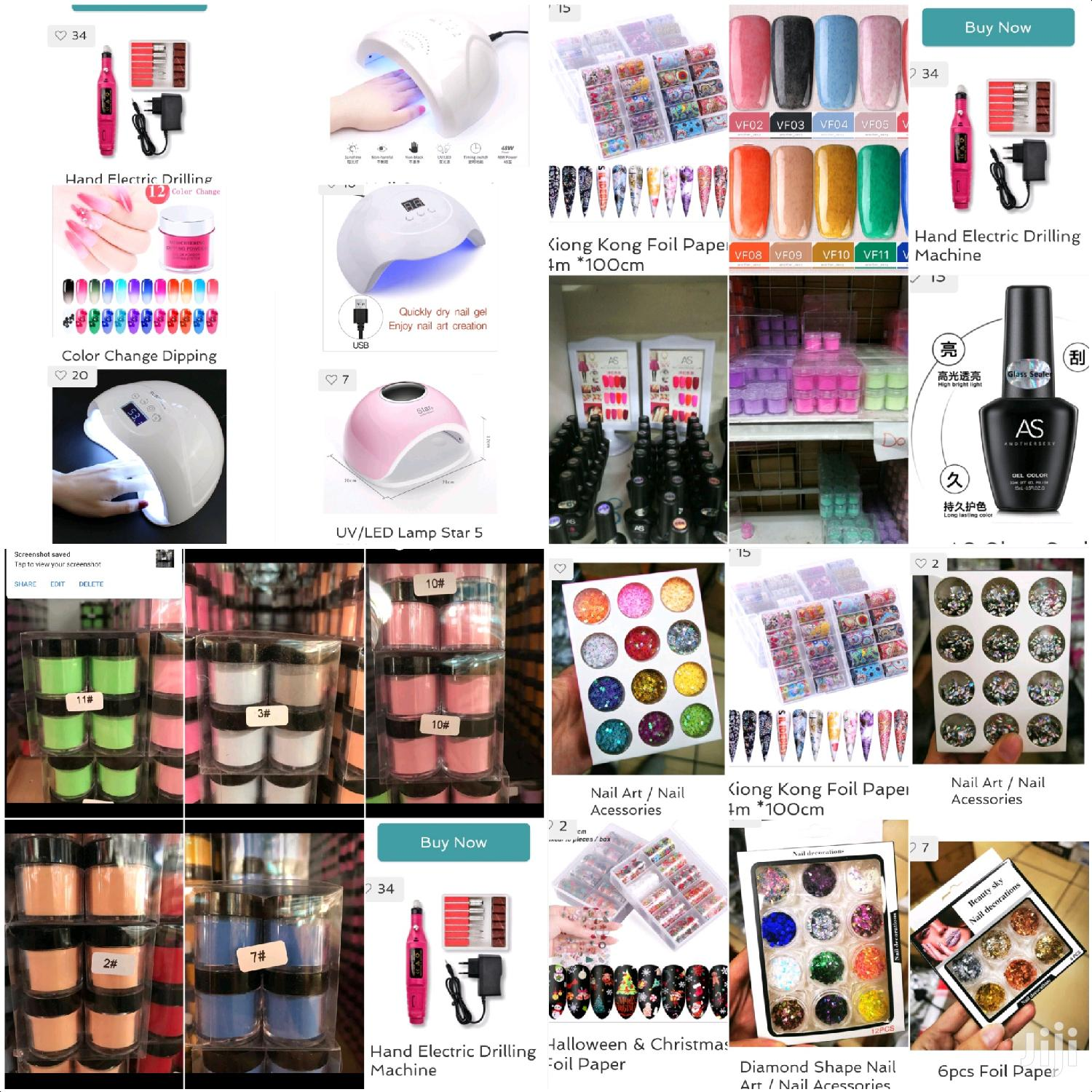 Sofi's Touch Nail Products