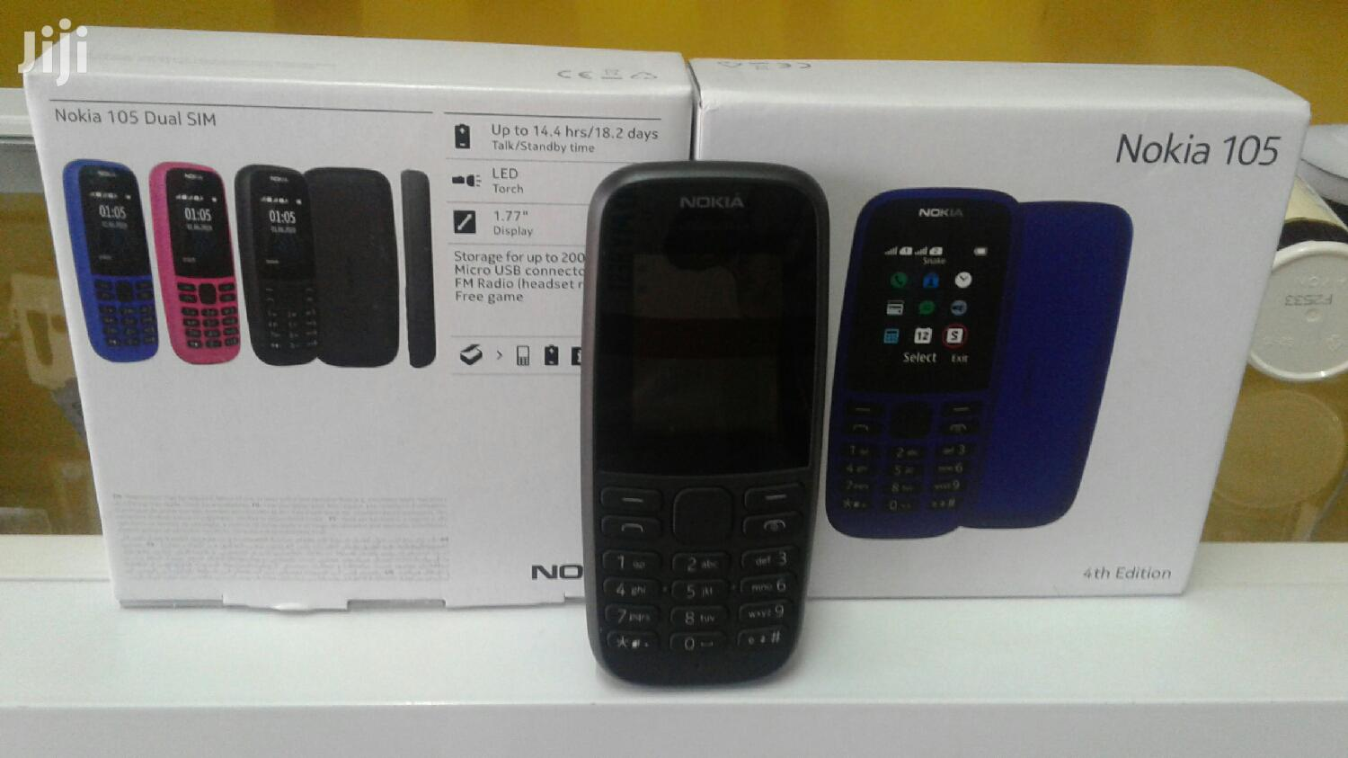 Archive: New Nokia 105 Black