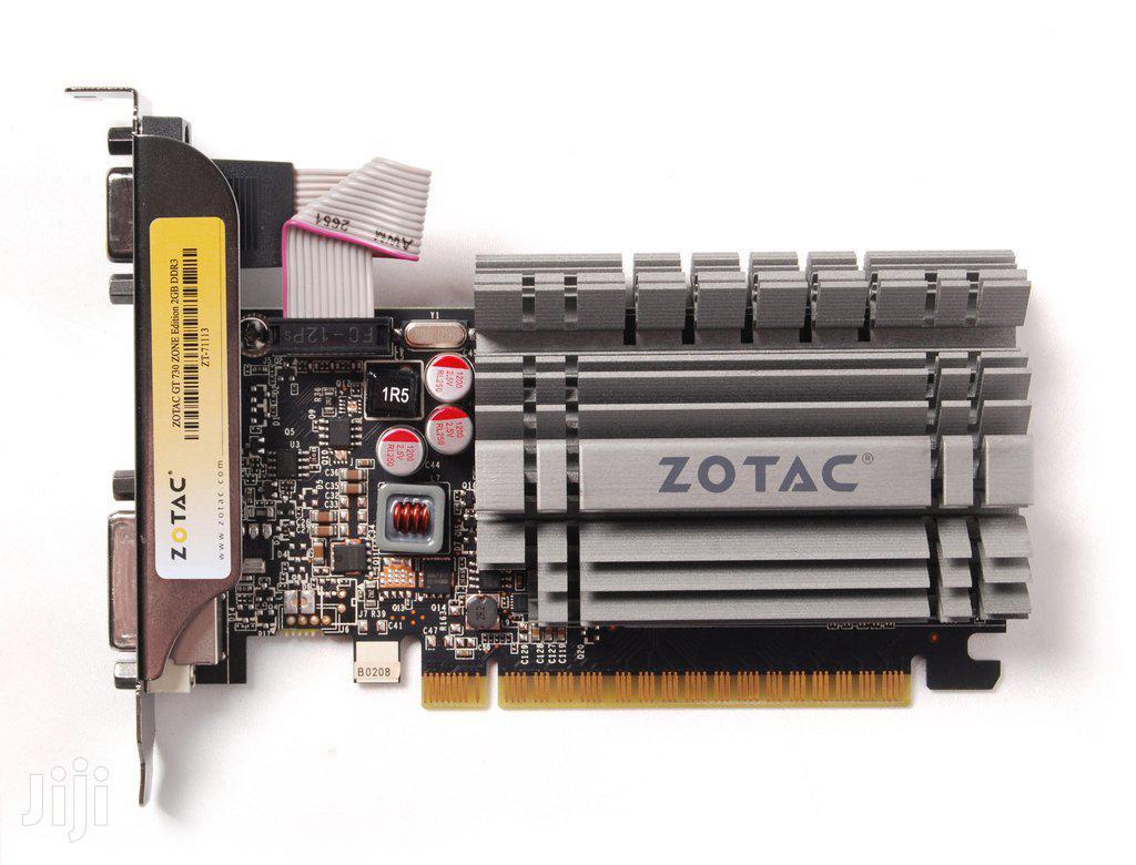 Graphic Card - For Desktop - Zotac Geforce GT 730 2gb | Computer Hardware for sale in Kokomlemle, Greater Accra, Ghana