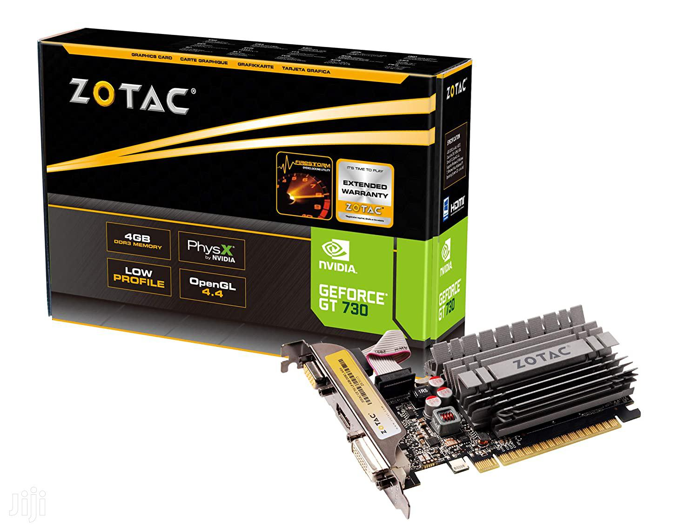 Graphic Card - For Desktop - Zotac Geforce GT 730 4gb