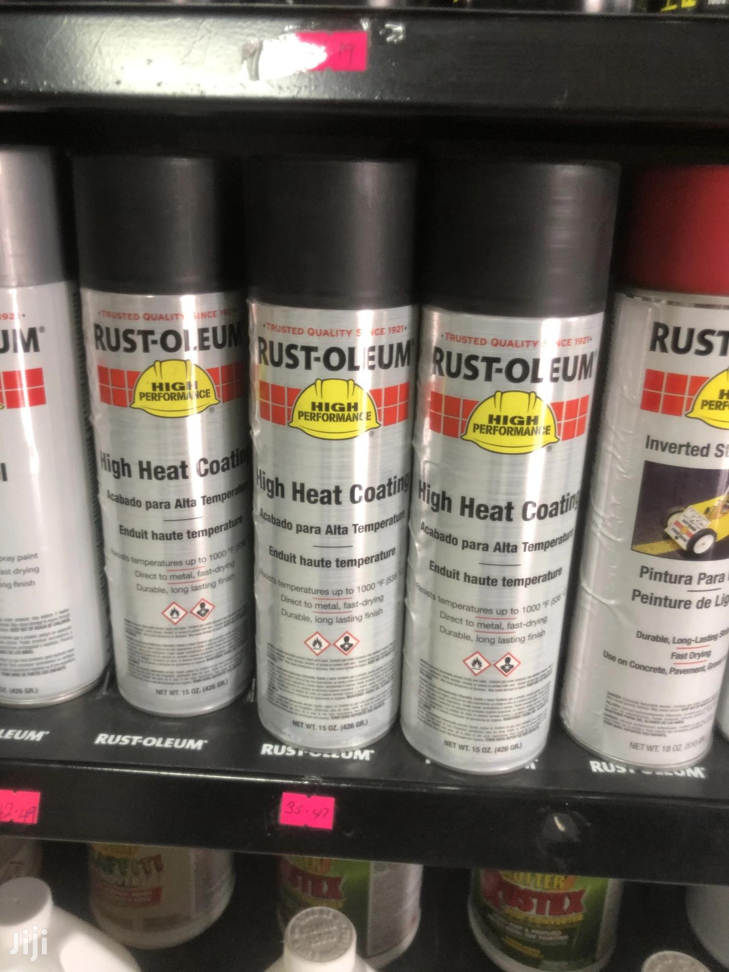 Heat Resistant Spray And High Heat Coating, Rust Preventive   Vehicle Parts & Accessories for sale in North Kaneshie, Greater Accra, Ghana