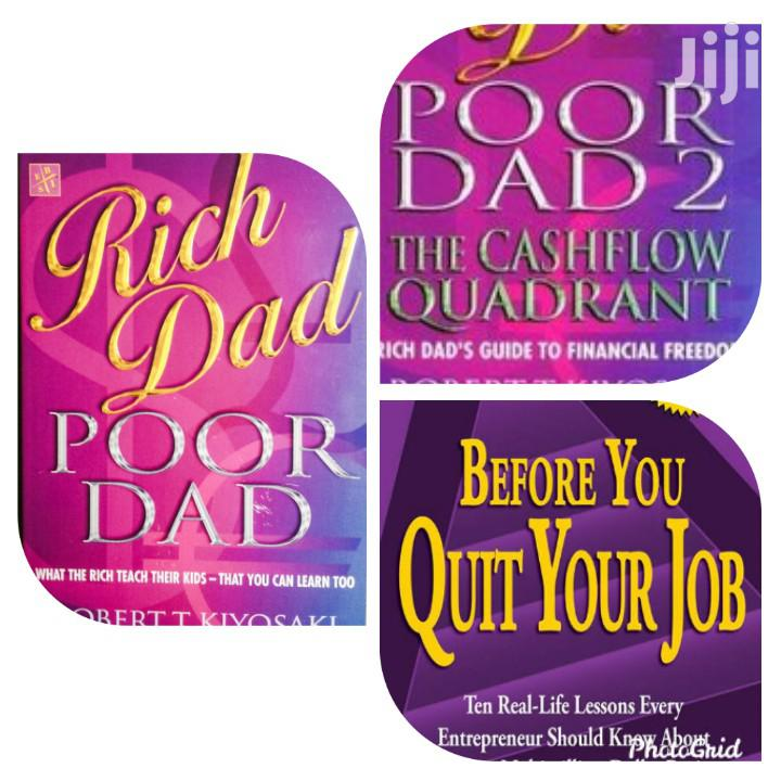 Archive: 3 Rich Dad Poor Dad Books