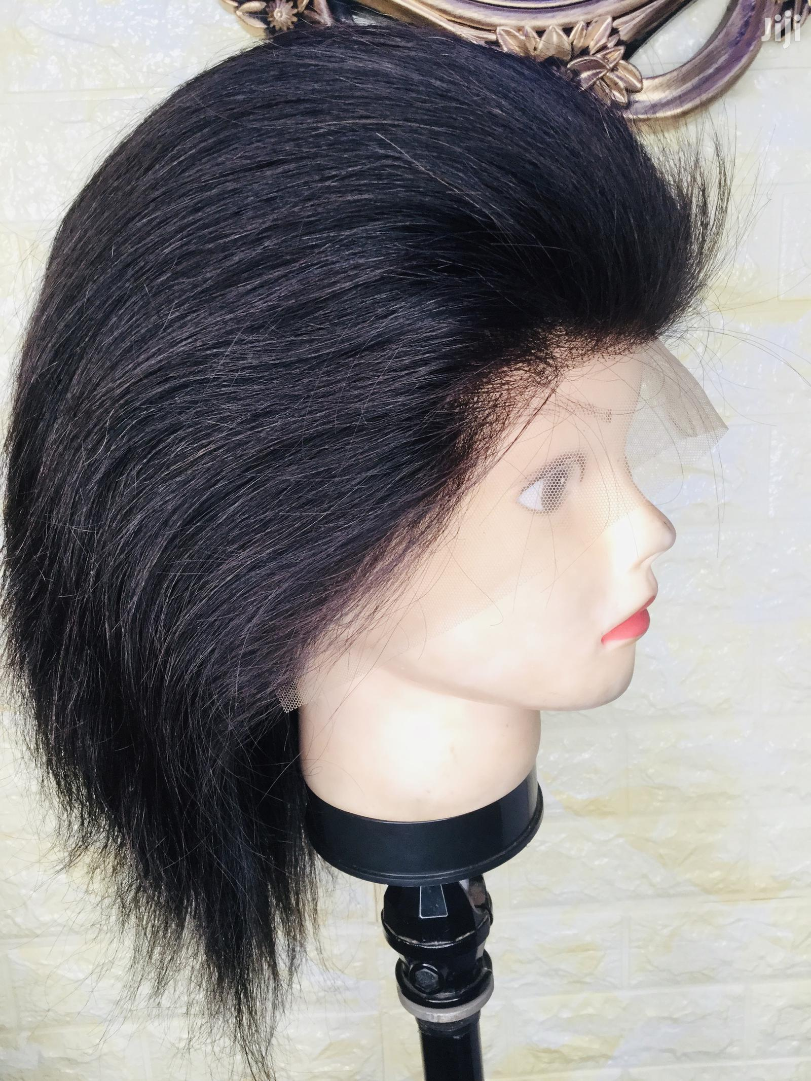 """Archive: Indian 12"""" Hair Wig Cap With Frontal"""