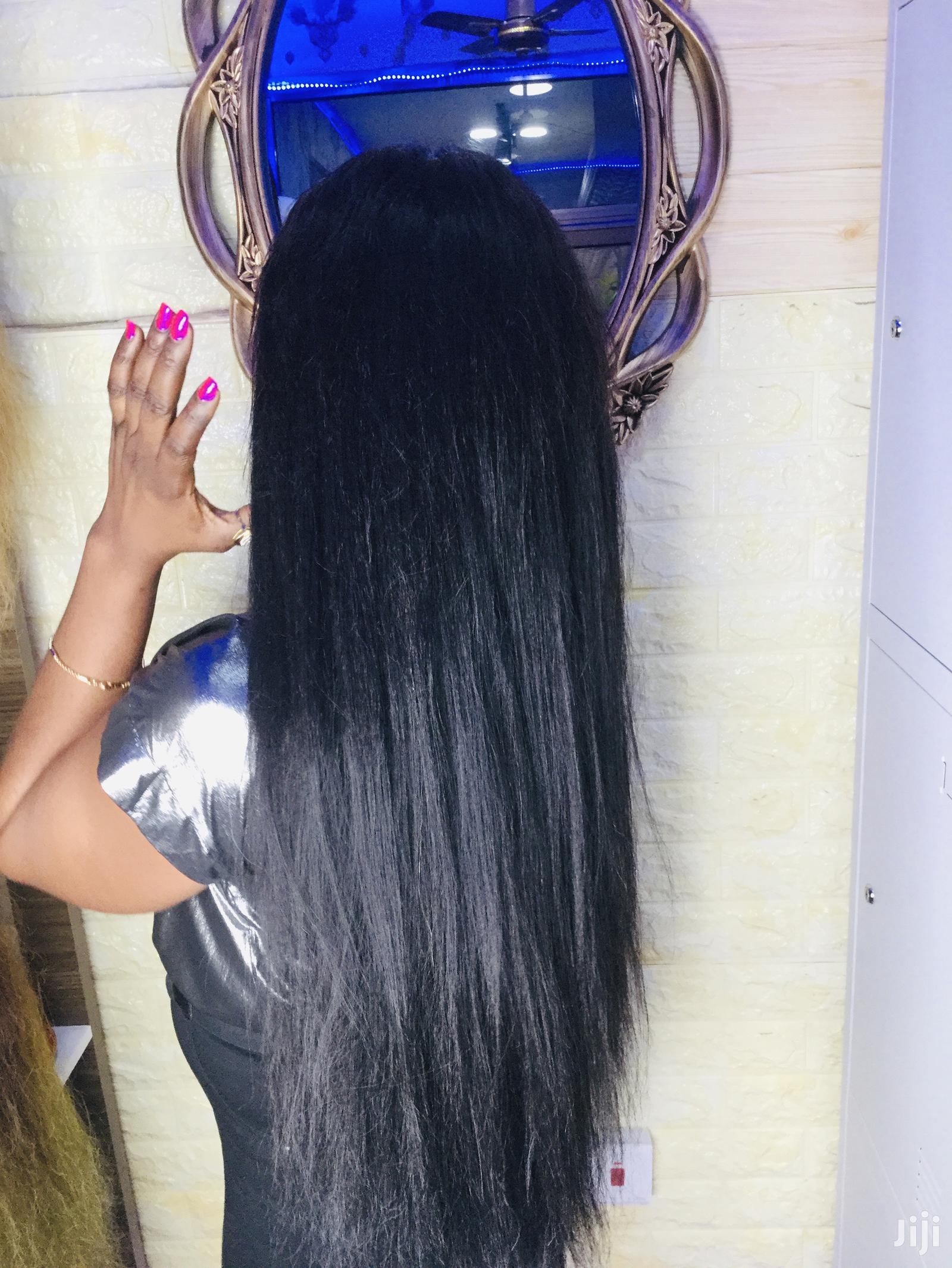 """Brazilian Hair 30"""" Wig With Closure   Hair Beauty for sale in East Legon, Greater Accra, Ghana"""