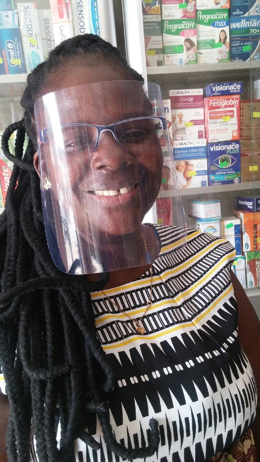 Spectacle Face Shield With Nose Mask