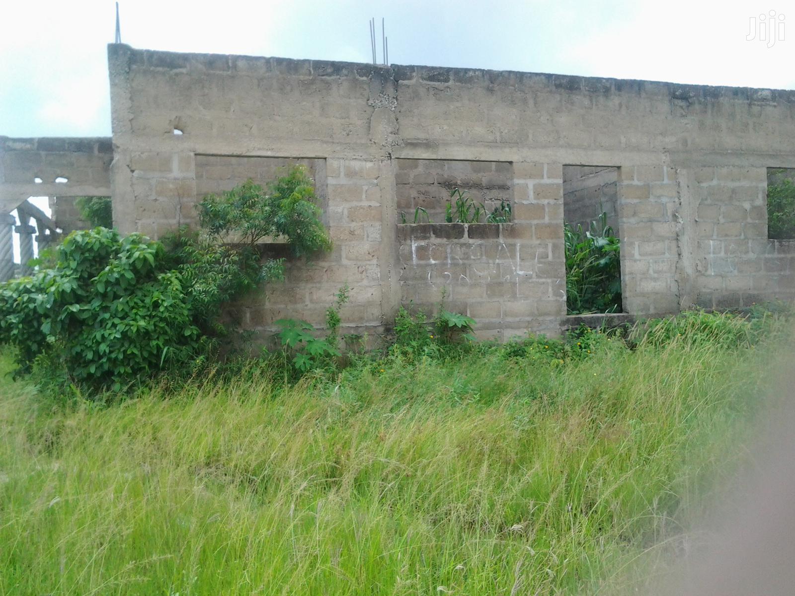 4 Bedroom Uncompleted House for Sale at Kasoa Barrier Camp
