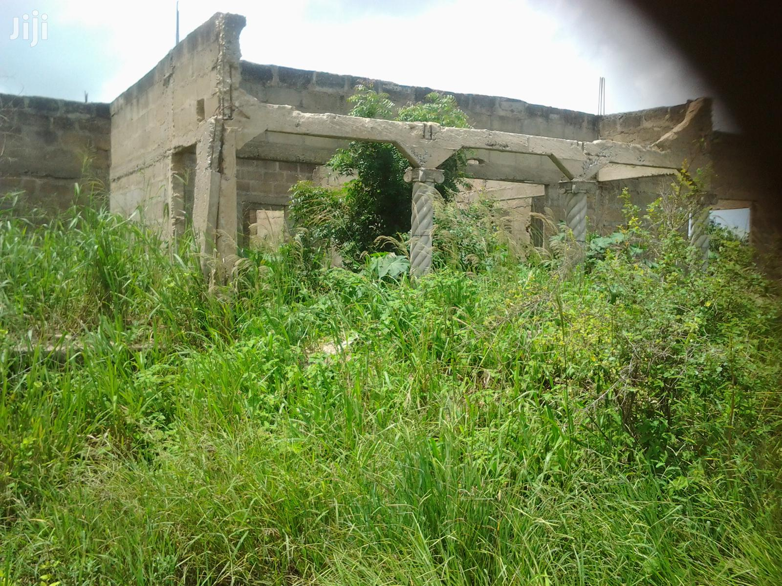 4 Bedroom Uncompleted House for Sale at Kasoa Barrier Camp | Houses & Apartments For Sale for sale in Gomoa East, Central Region, Ghana