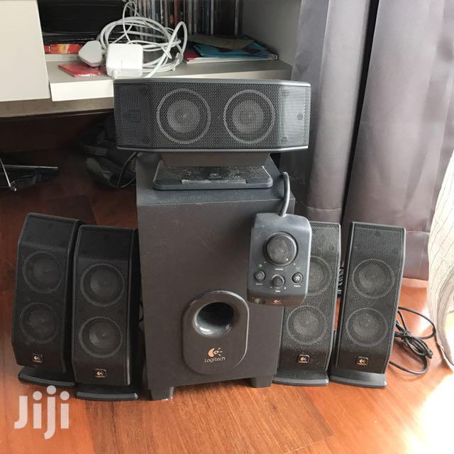 Archive: Logitech X-540 5.1 Surround Speaker System With Subwoofer