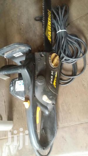 Electric Chain Saw Machine