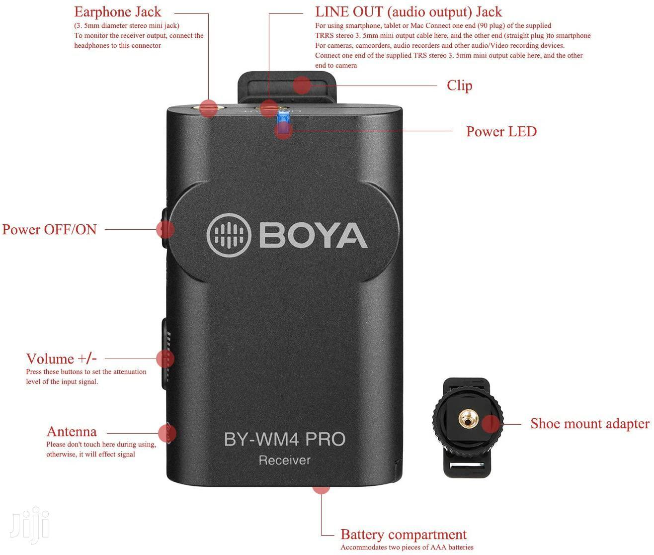Archive: BOYA BY-WM4 Pro-k1 Digital Wireless Microphone