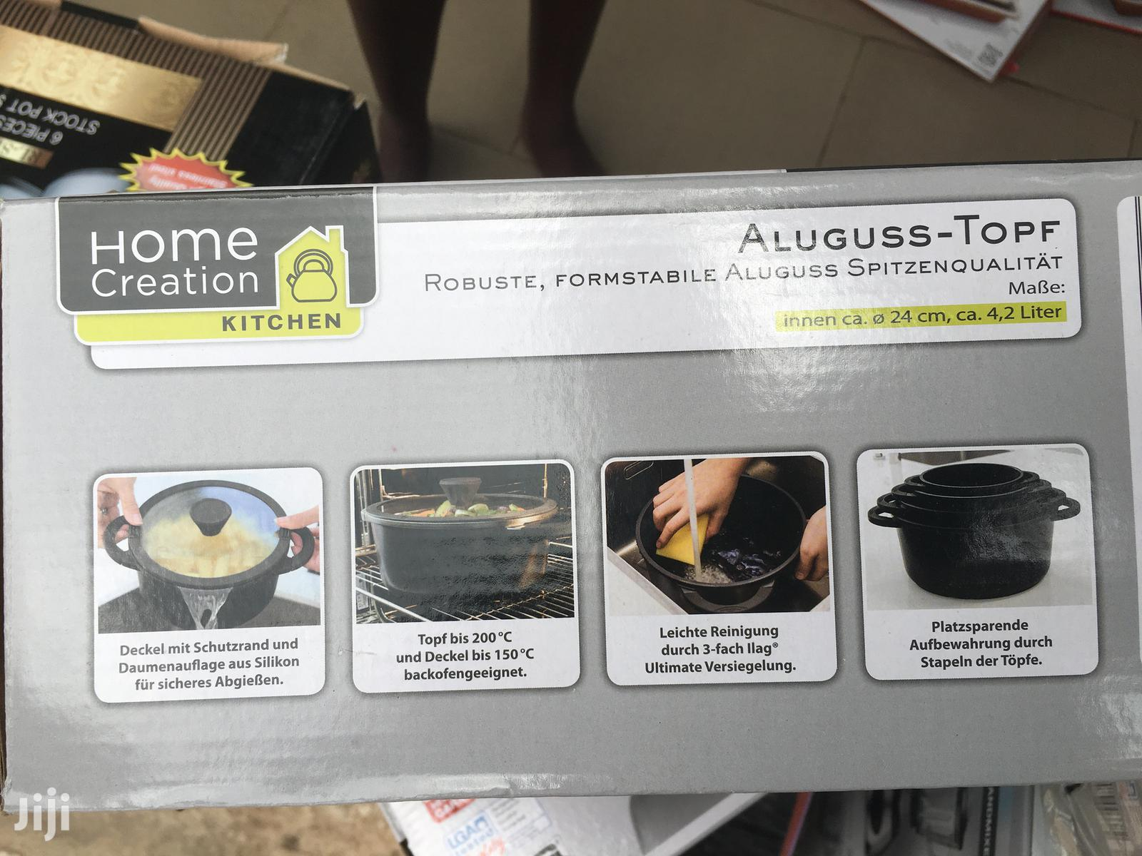 Non-stick Aluminum Cooking Set   Kitchen & Dining for sale in Accra Metropolitan, Greater Accra, Ghana