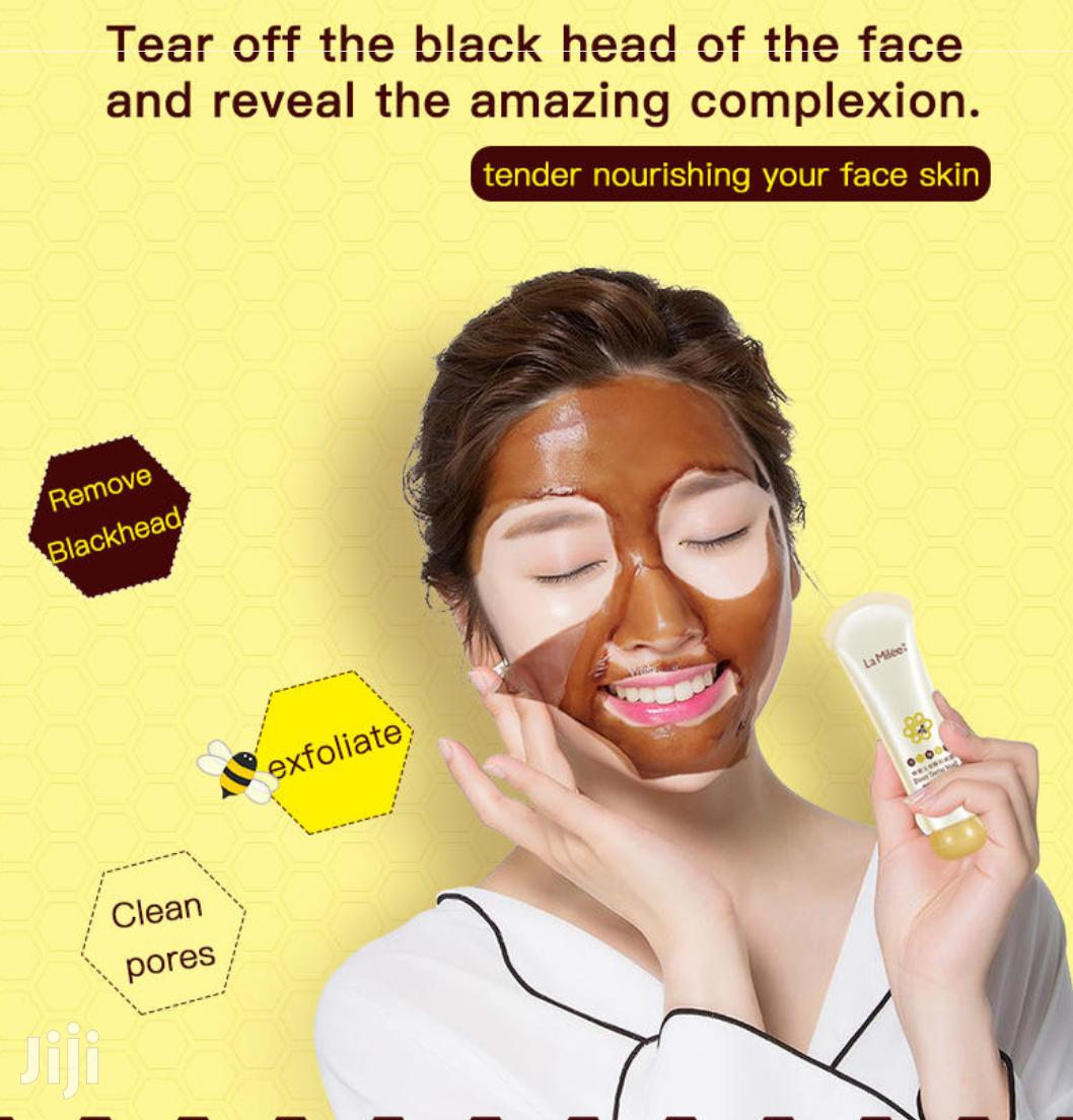 Clear All Oil, Dark Spots Pimples Using Honey Peeling Mask | Skin Care for sale in Achimota, Greater Accra, Ghana
