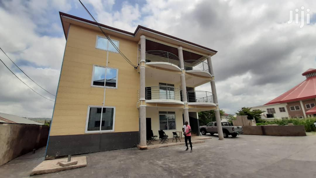 A Fenced 2 Bedroom, Semi Furnished Flat Apartment For Rent.