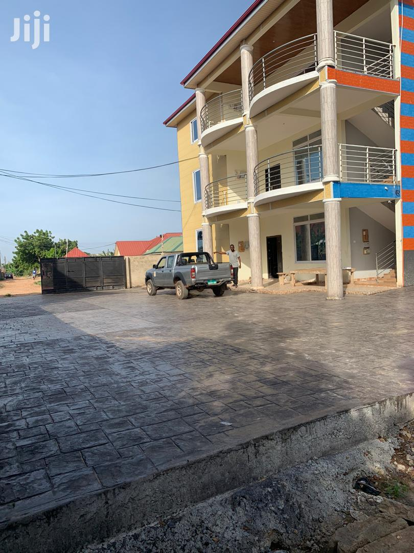 A Fenced 2 Bedroom, Semi Furnished Flat Apartment For Rent.   Houses & Apartments For Rent for sale in Adenta Municipal, Greater Accra, Ghana
