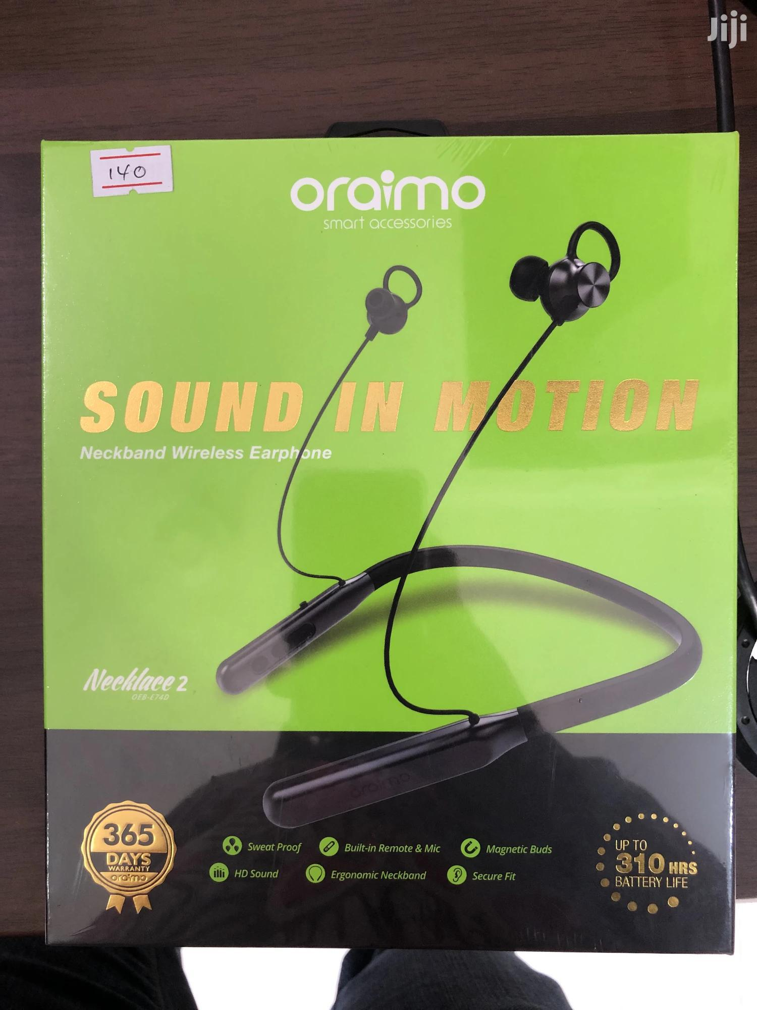 Oraimo Necklace 2 Heavy Bass Bluetooth Headset