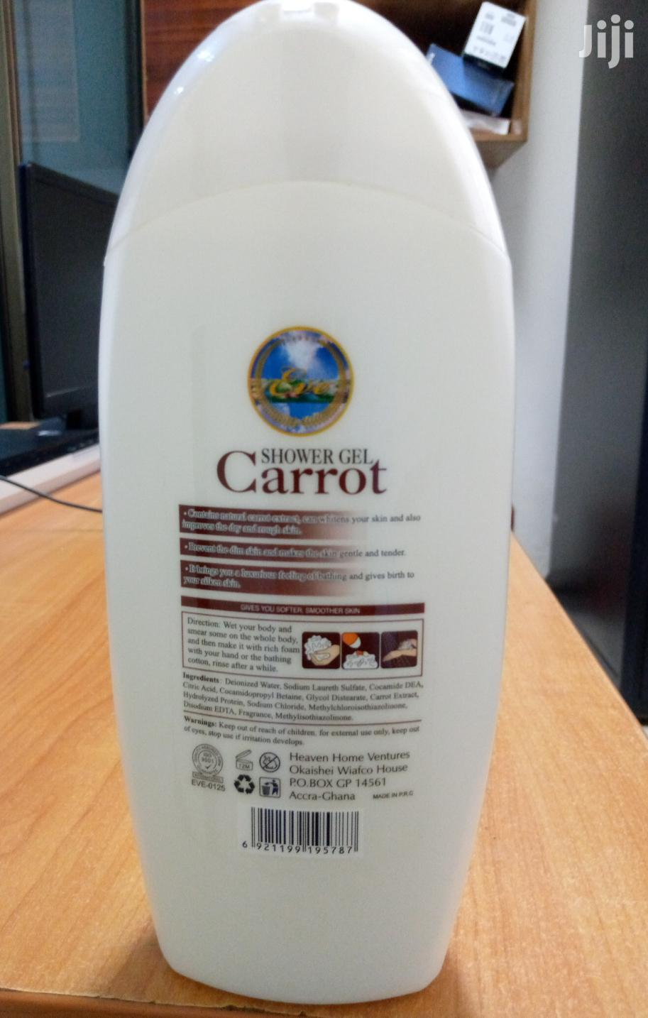 Shower Gel (Carrot,Milk) Eve Product | Bath & Body for sale in Madina, Greater Accra, Ghana