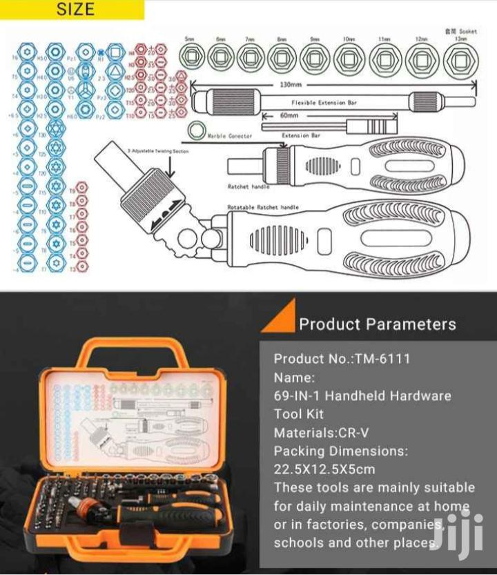 Home Rotatable Ratchet Screwdriver Set 69 In 1 | Hand Tools for sale in Nii Boi Town, Greater Accra, Ghana