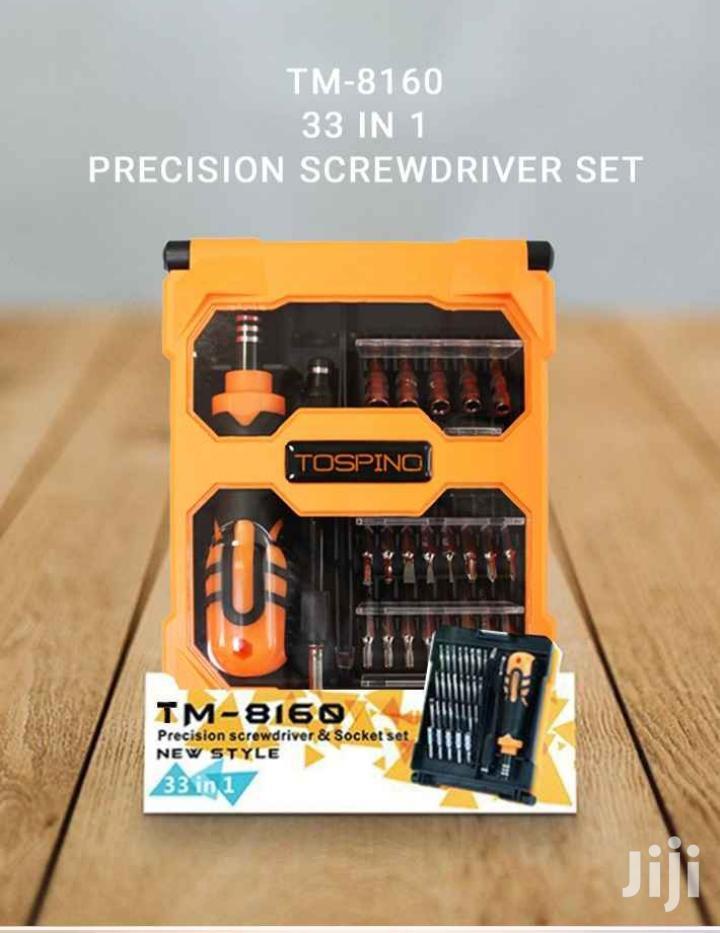 TM-8160 (33 In 1)Professional Multi Functional Tool Kit
