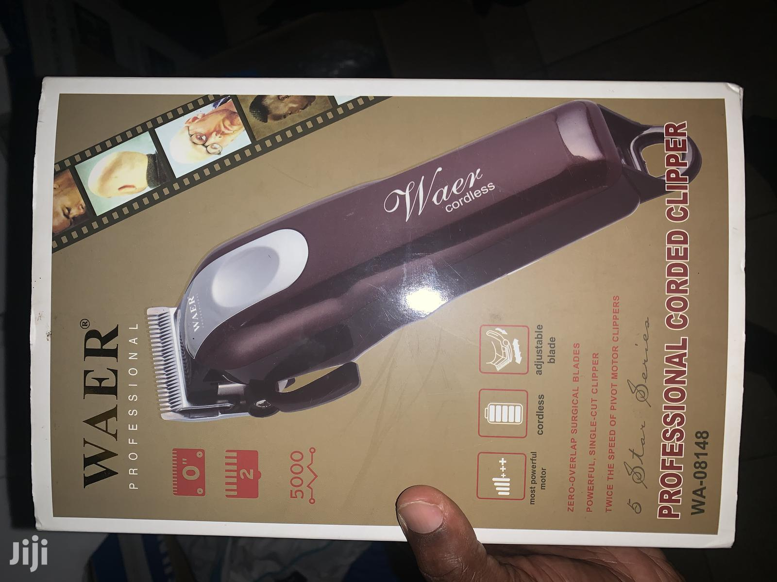 Waer Professional Cordless Clipper | Tools & Accessories for sale in Asylum Down, Greater Accra, Ghana