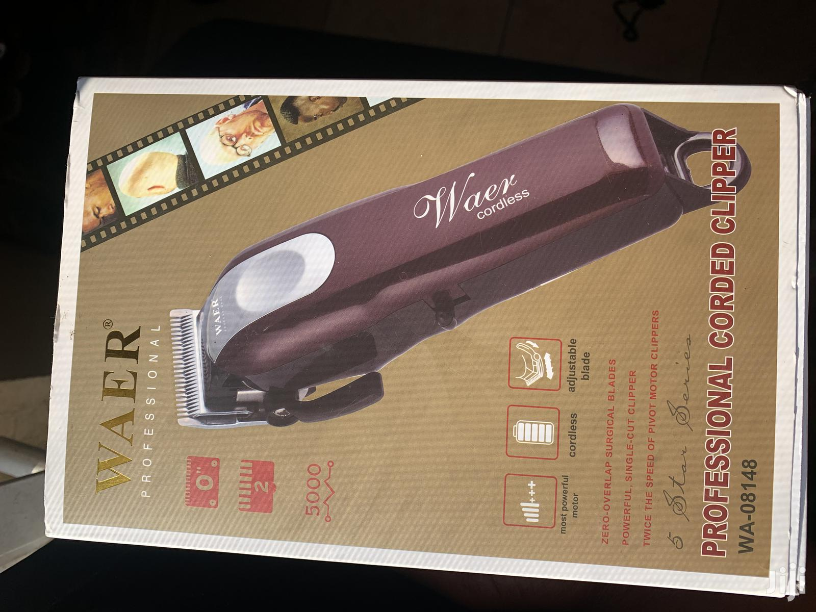 Waer Professional Cordless Clipper