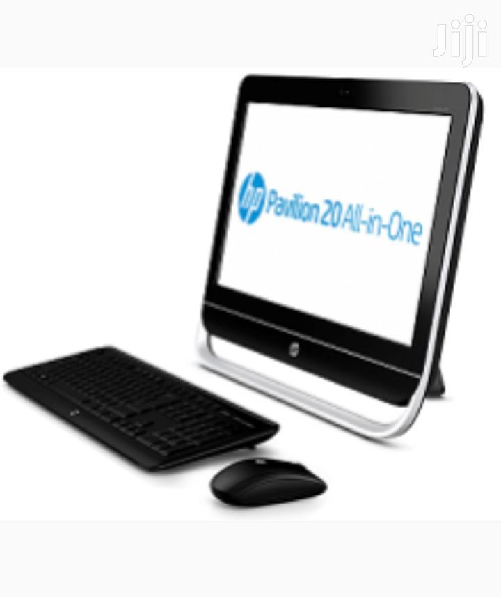 Desktop Computer HP Pavilion 24 4GB Intel HDD 500GB | Laptops & Computers for sale in Achimota, Greater Accra, Ghana