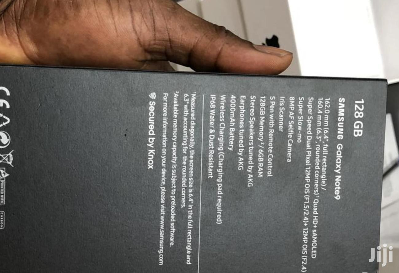 Archive: New Samsung Galaxy Note 9 128 GB Black