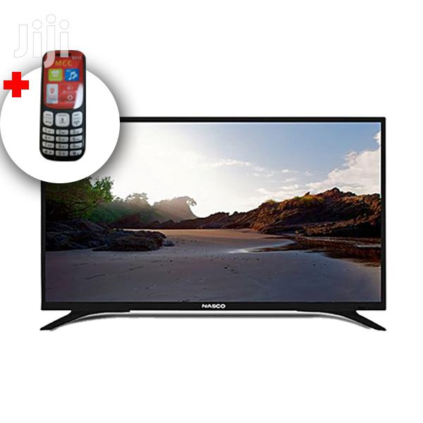 Archive: Nasco 32 Inch LED TV (Plue Free Phone)