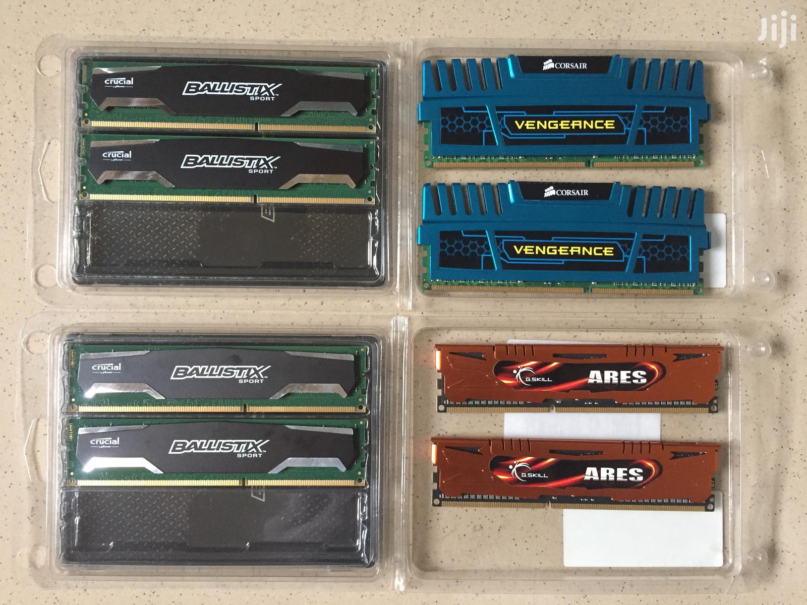Ddr3 Desktop Ram / Memory