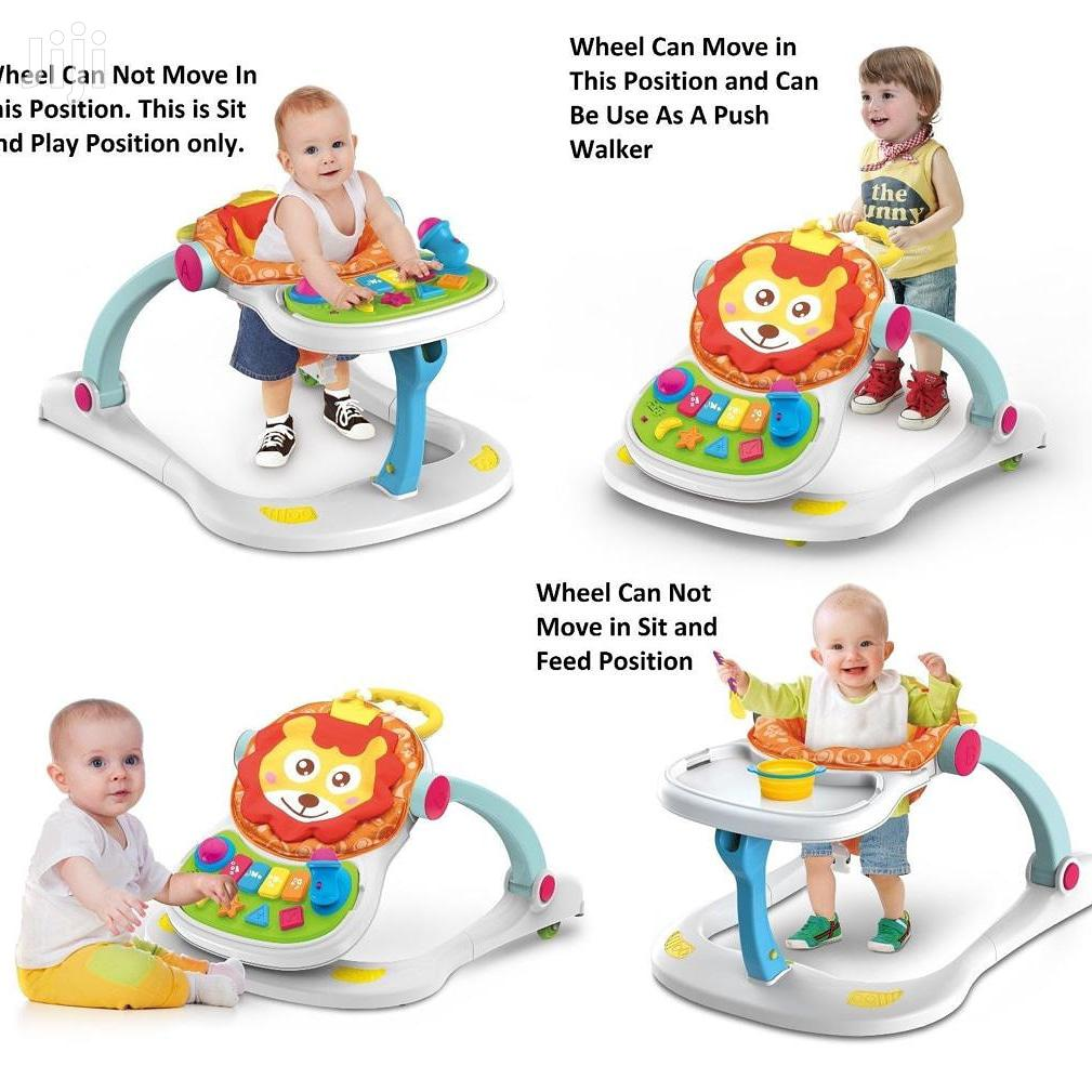 Unique And Classic Baby Walker 4in1 Use