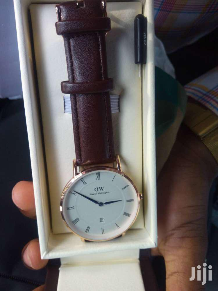 Brown Leather Daniel Welington Watch