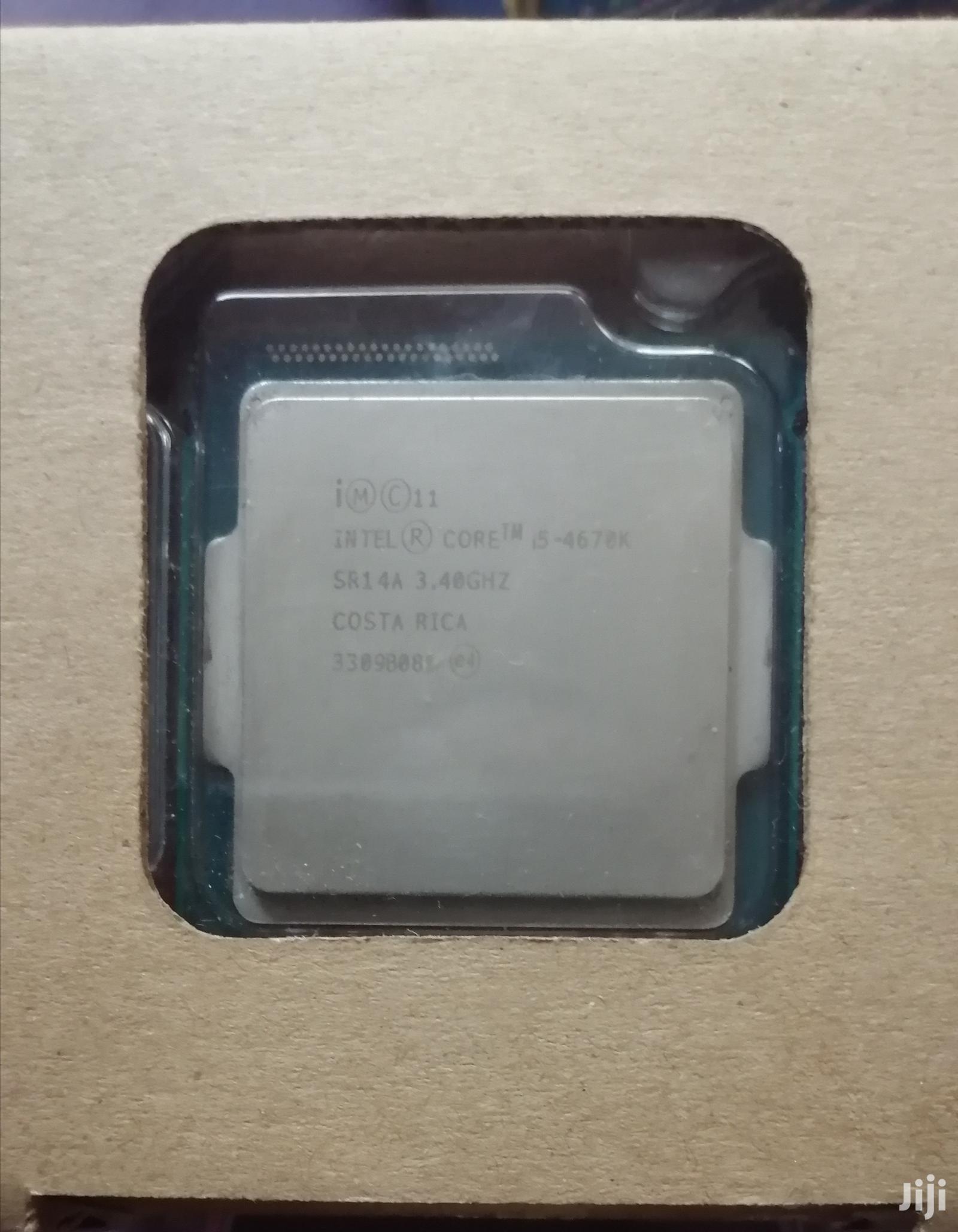 Archive: Intel Core I5 (4670K) Processor