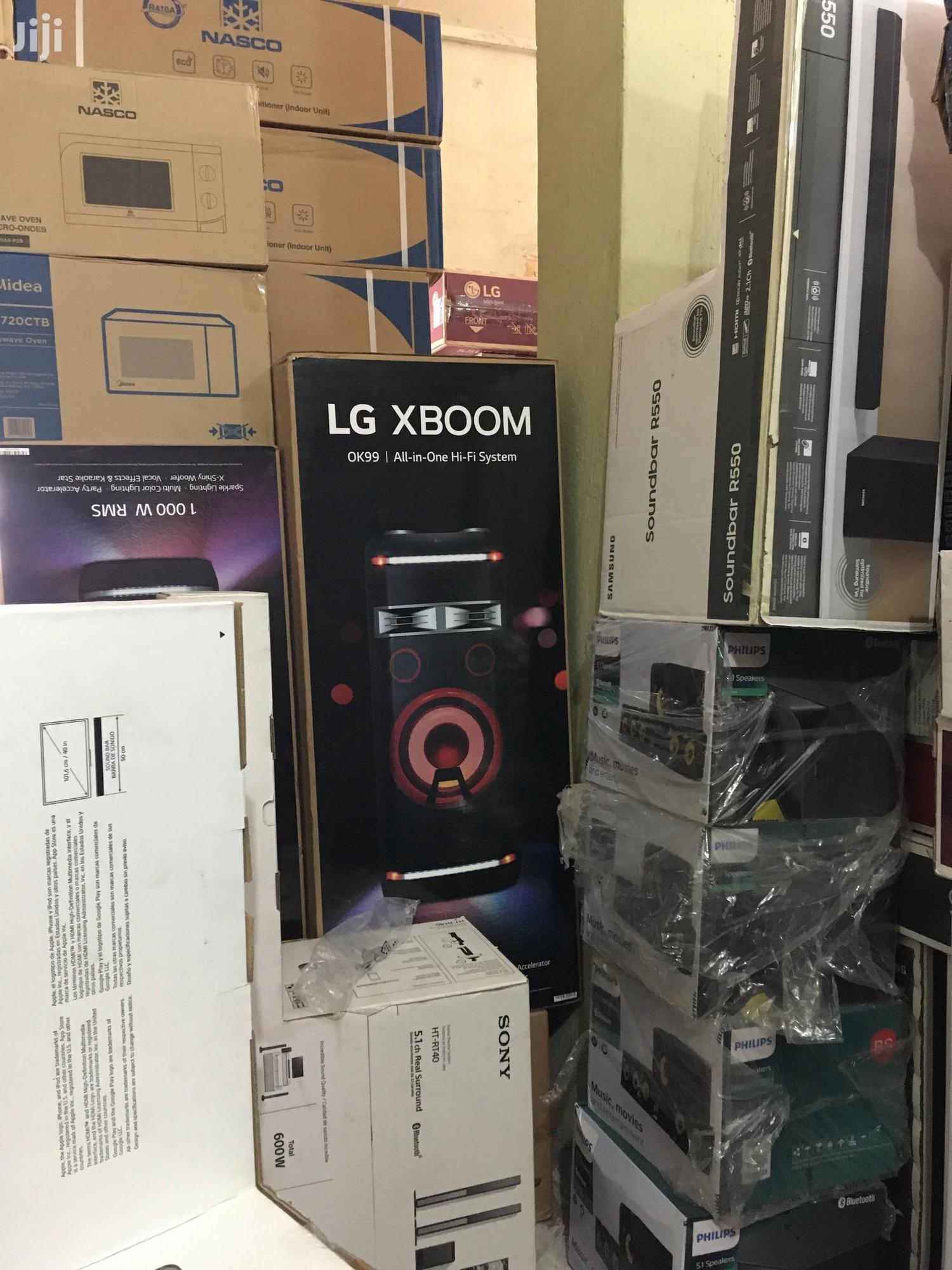 Archive: Power LG XBOOM Home Theater
