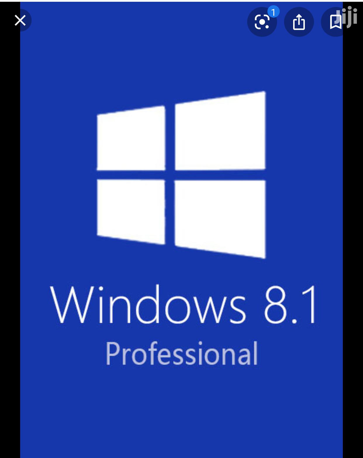 Windows 8.1 Pro Licenses 1user | Software for sale in Darkuman, Greater Accra, Ghana